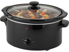 Sainsburys Home Black Compact Slow Cooker 3.2L