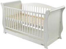 Baby Style Hollie Sleigh Cot bed