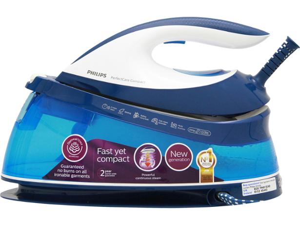 philips perfectcare compact gc7805 steam iron review which. Black Bedroom Furniture Sets. Home Design Ideas