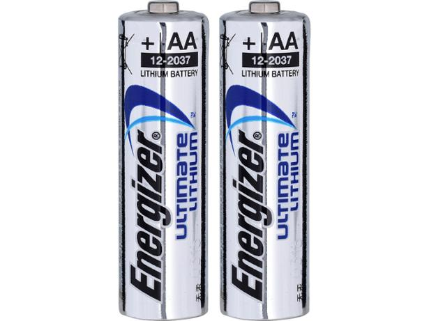 Energizer Ultimate Lithium AA front view