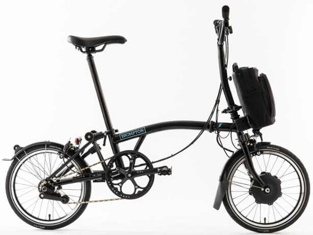 Brompton Electric H2L front view
