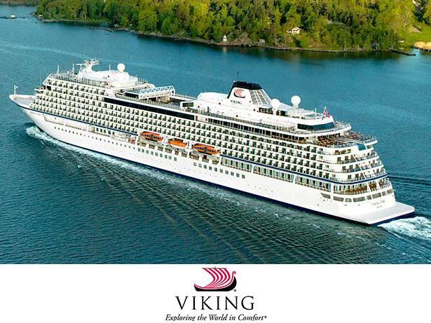 Viking Ocean Cruises Ocean cruises front view