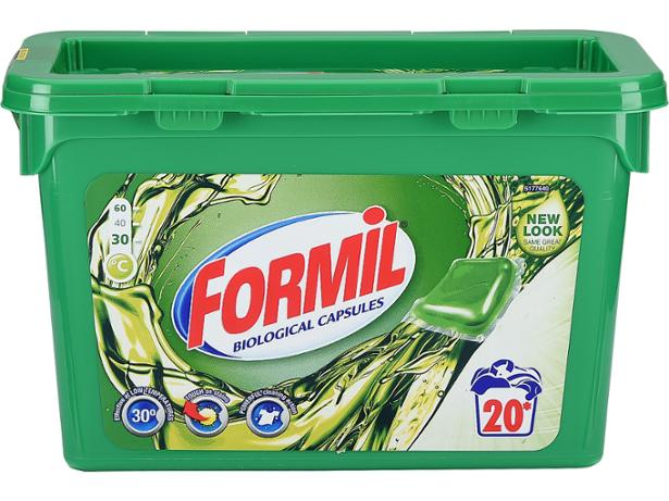 Lidl Formil Bio Capsules Washing Powder And Laundry