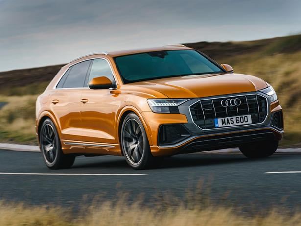 audi q8 2018 new used car review which. Black Bedroom Furniture Sets. Home Design Ideas