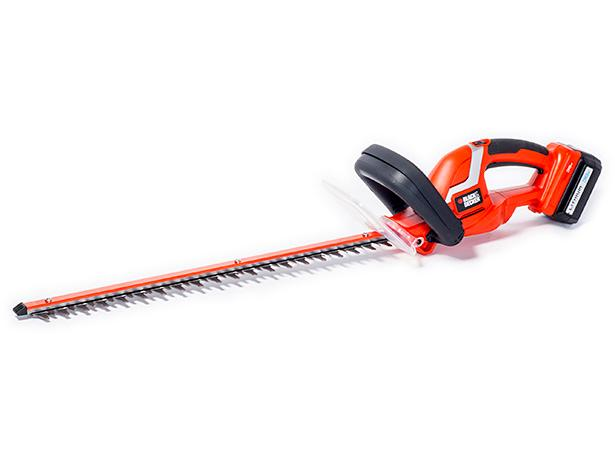 how to use black and decker hedge trimmer