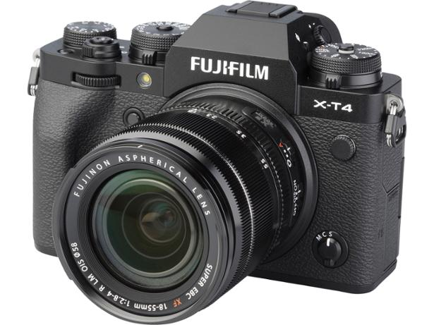 Fujifilm X-T4  front view