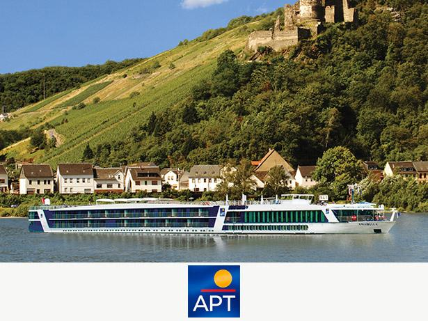 APT Luxury River Cruises River cruises front view