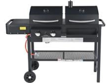 Argos Premium Dual Fuel Charcoal & Gas Combi BBQ