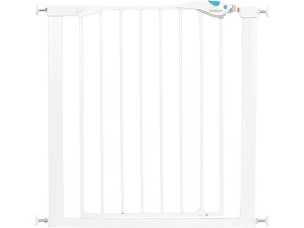 lindam easy fit plus deluxe safety gate stair gate review. Black Bedroom Furniture Sets. Home Design Ideas