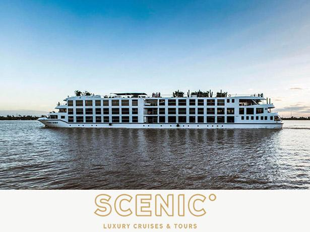 Scenic Luxury Cruises and Tours River cruises front view