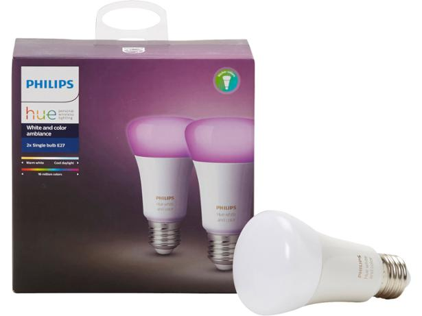 Philips Hue White and Colour Ambiance Single Bulb