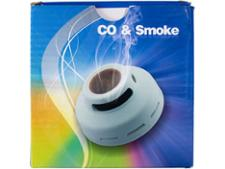 Unbranded CO & smoke alarm