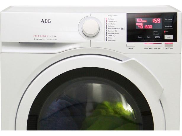 John Lewis JLWD1614 8kg Wash 4kg Dry Freestanding A Rated Washer Dryer