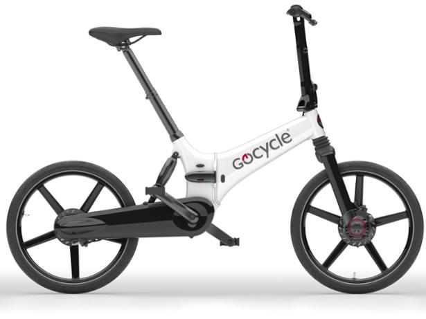 Gocycle GX Fast Folder front view