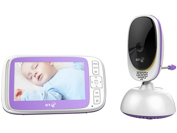 BT Video baby monitor 6000 front view
