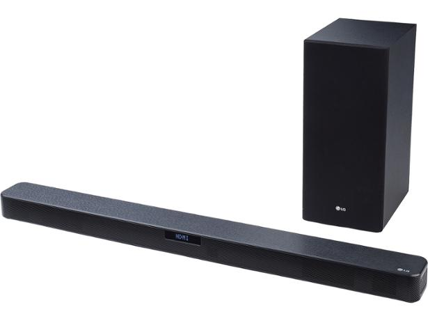 Barra de sonido - LG SL5Y, 2.1, 400 W, Digital Surround, Dolby Digital.