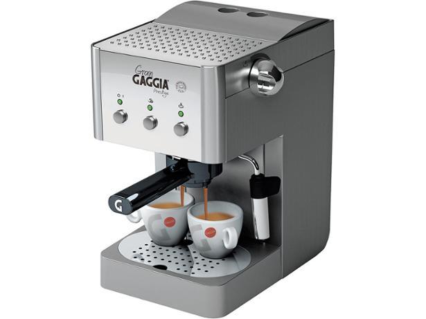 Gaggia Gran Gaggia Prestige RI8327 coffee machine review