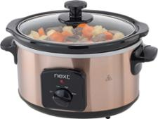 Next Copper-Effect Slow Cooker 983971