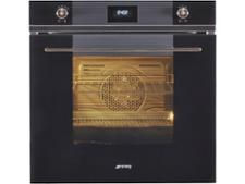 Smeg SFP6101TVN Black glass