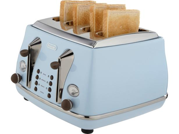 Matching Coffee Maker And Toaster : Delonghi Vintage CTOV4003 toaster review - Which?