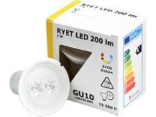 Ikea 3W Ryet LED 200 lumen 503.062.44