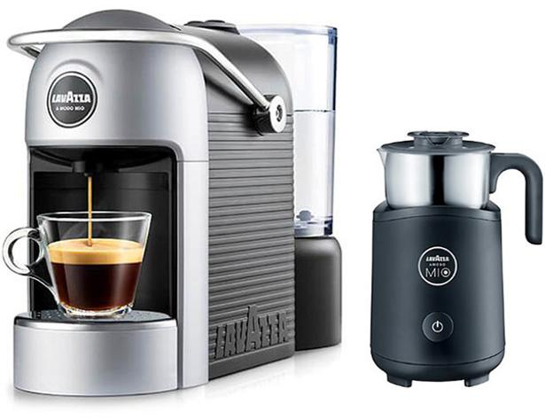 lavazza jolie plus with milk frother 18000122 coffee. Black Bedroom Furniture Sets. Home Design Ideas