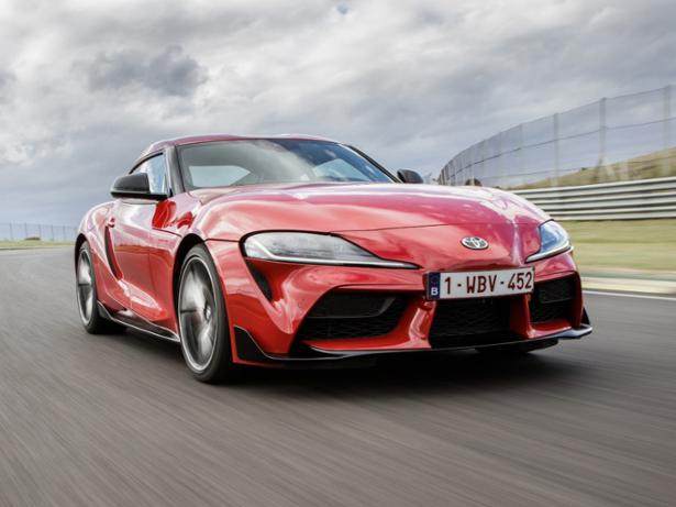 Toyota GR Supra (2019-) front view