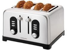 Argos Cookworks Premium 4 Slice Toaster 699/1333