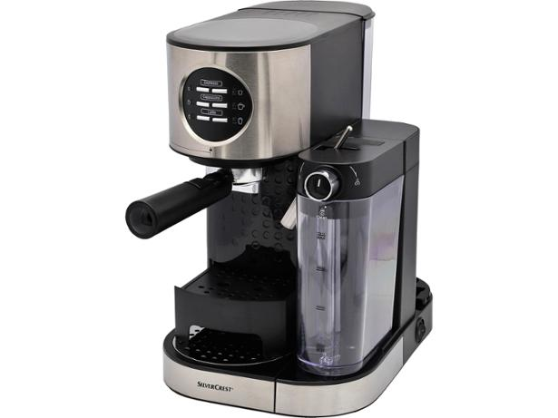 Lidl Silvercrest Espresso Machine With Milk Frother Coffee