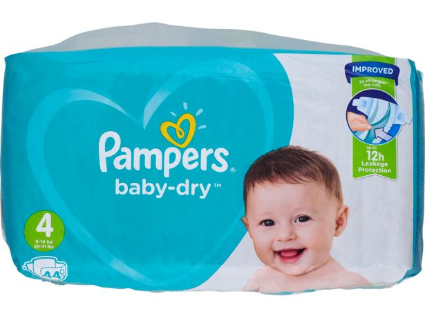 Pampers Baby-Dry front view