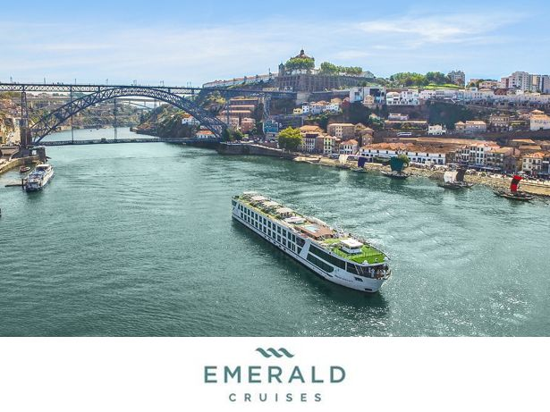 Emerald Cruises River cruises front view