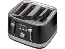 Morphy Richards Illumination 4 Slice Toaster Black