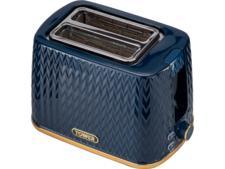 Tower Midnight Blue 2 slice toaster