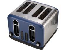 Asda George Home 4-slice blue toaster