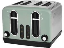 Asda George Home 4-slice green toaster