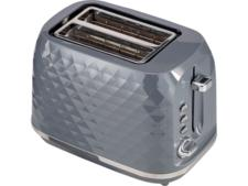 Asda George Home GTT101G-20 2-slice grey textured toaster
