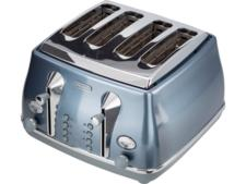 DeLonghi Icona Metallics CTOT4003.AZ four-slice toaster