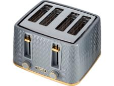 Tower T20061GRY Empire 4-Slice Toaster