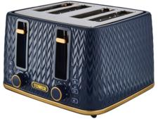 Tower T20061MNB Empire 4-Slice Toaster