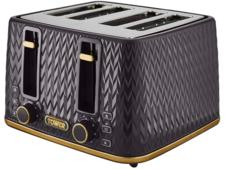 Tower T20061BLK Empire 4-Slice Toaster