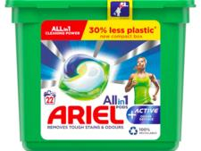 Ariel All-in-1 Pods + Active Odour Defence