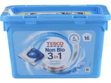 Tesco Non-Bio 3 in 1 Capsules