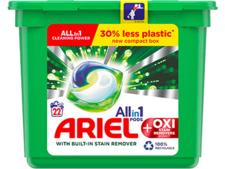 Ariel All in 1 Pods + Oxi Stain Removers