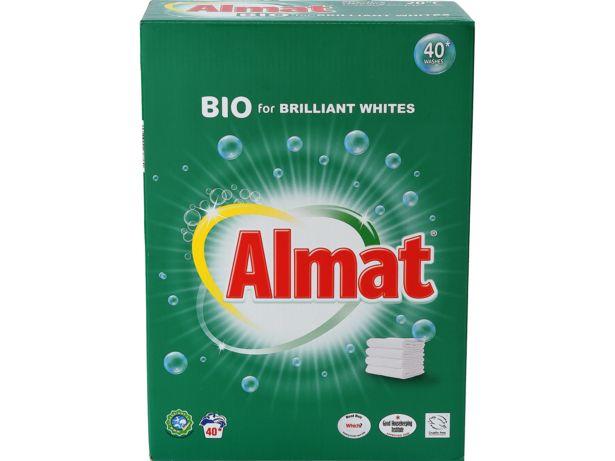 Aldi Almat Bio Washing Powder front view