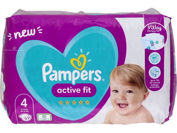 Pampers Active Fit front view