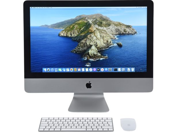 Apple iMac 21-inch 4K front view