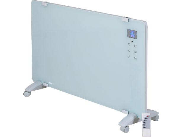 Electriq 2000W Designer Glass Heater EGH20AW front view