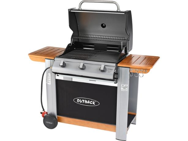 Outback Spectrum Hooded 3 burner gas barbecue review - Which?