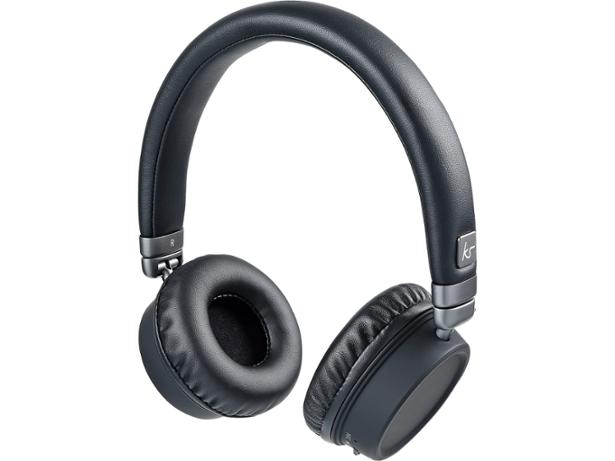 c80c7ea0a9faeb Key features. On-ear; Wired. Reviewed Aug 2017. The black and gold Kitsound  Harlem Bluetooth headphones ...