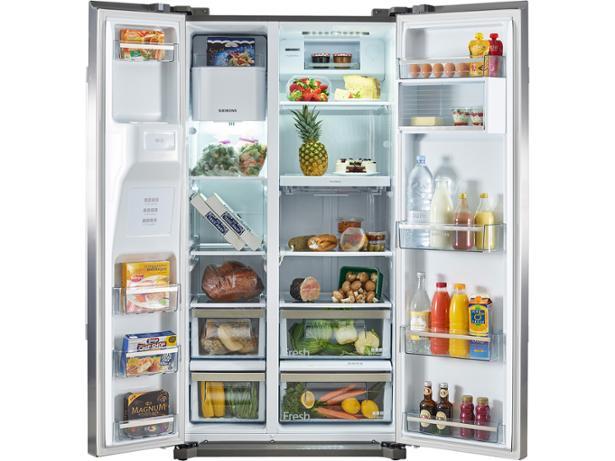 Siemens KA90IVI20G fridge freezer review - Which?